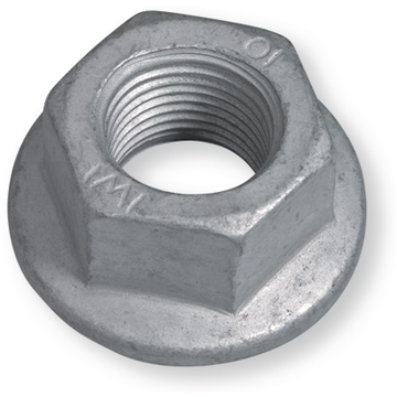 Hexagon Nuts MBN13023 steel 10M16X1,50 with flange